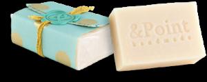 Jabón natural de coco hecho a mano